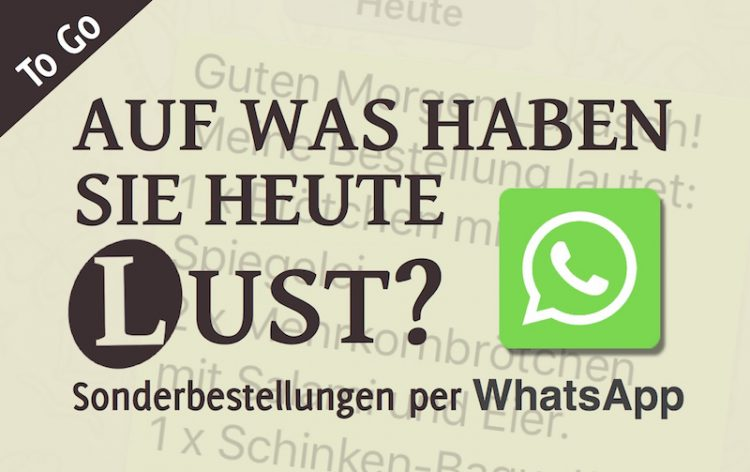 Lukasch To Go WhatsApp