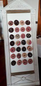Hochzeit Donut Wall