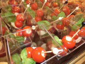 Geschirrloses Catering, einfach und unkompliziert