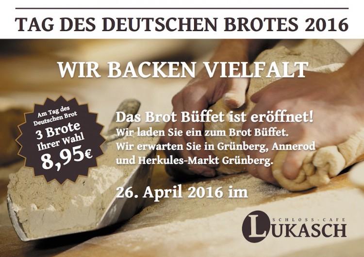 Tag des Deutschen Brotes 2016