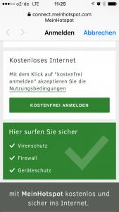 Kostenloses Internet