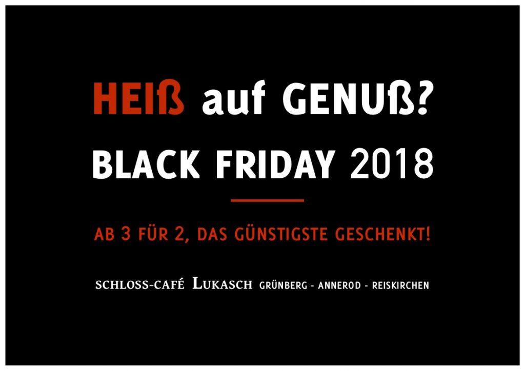 Black Friday Lukasch Grünberg 2018