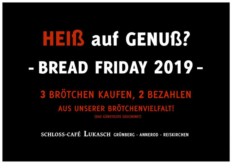 Bread Friday 2019