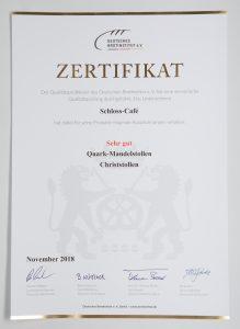 Lukasch Zertifikat 2018