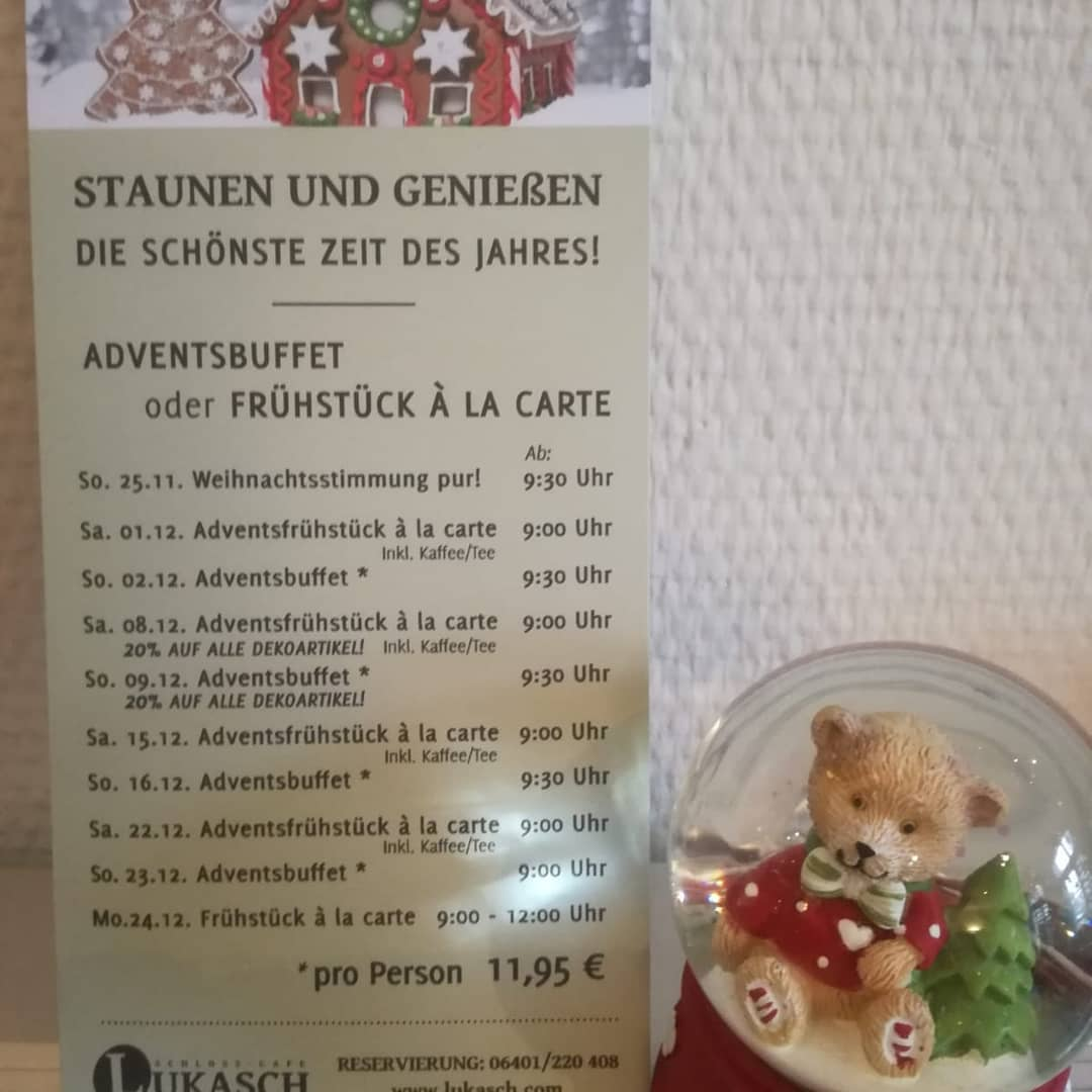 Lukasch Adventsbuffet 2018